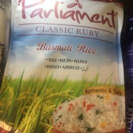 Parliament basmati rice 5kg