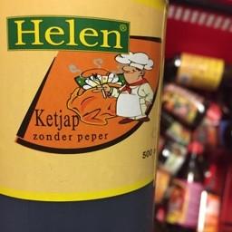Helen ketjap zonder peper 500ml