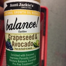 Grapeseed & avacado 118ml