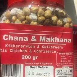 Chana & makhana 200g