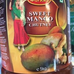 Sweet mango chutney 5kg