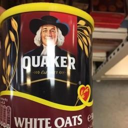 White oats 500g