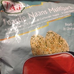 Toastie Naans Multipacks 350g