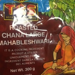 Roasted channa large mahableshwari 300g