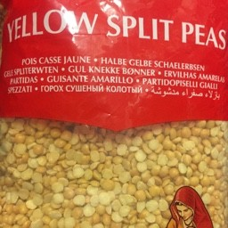 Yellow split peas 2kg