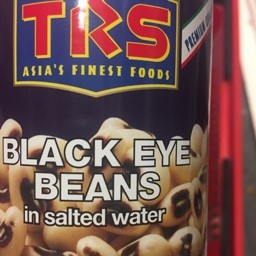 Black eye beans in salted water 400g