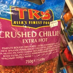 TRS CRUSHED CHILLIES EXTRA HOT 750g