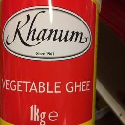 Khanum vegetable ghee 1kg