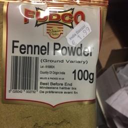 Fudco fennel powder 100g