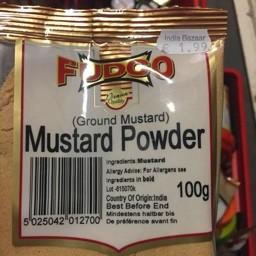 Fudco mustard powder 100g