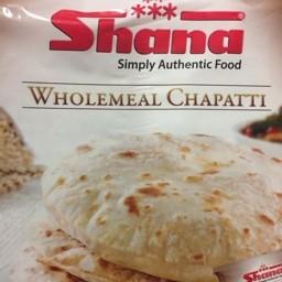 Wholemeal chapatti 20pcs 800g