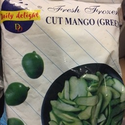 Cut mango green 400g