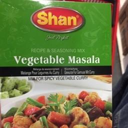 Shan vegetable masala mix 100g