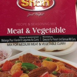 Shan meat & vegetable 100g
