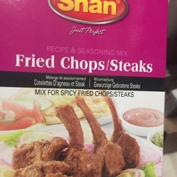 Shan fried chops/steaks 50g
