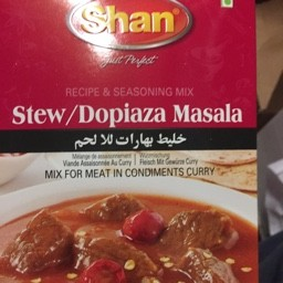 Shan stew/dopiaza masala mix 50g