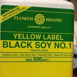 Flower brand black soy no.1 500ml