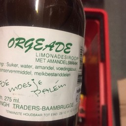 Orgeade limonadesiroop 275ml