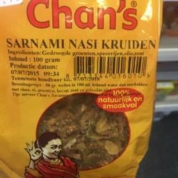 Sarnami nasi kruiden 100g