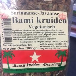 Bami kruiden vegetarisch 1000g