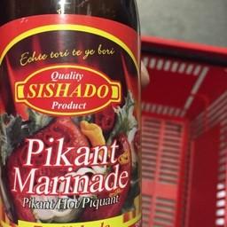 Sishado pikant marinade 350ml