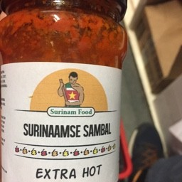 Surinaamse extra hot 315ml