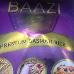 Baazi premium basmati rice 5kg