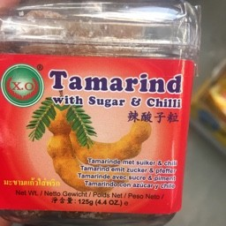 Tamarind with sugar & chilli 125g