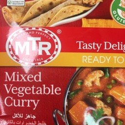 Mixed vegetable curry 300g