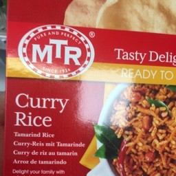 Curry rice 250g