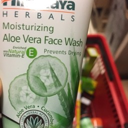 Moisturizing aloe vera face wash 50ml