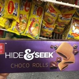 Hide&seek choco rolls