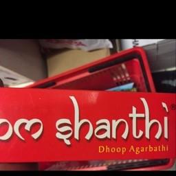 Om shanti sticks