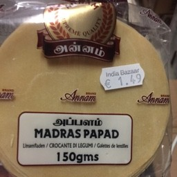 Madras papad 150g