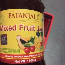 Mixed fruit jam 500g
