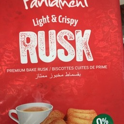 Light & crispy rusk 300g
