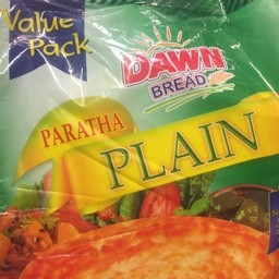 Prantha plain 1600g 20 pieces