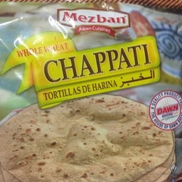 Whole wheat chapati 10 pieces 450g