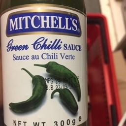 Mitchelle's green chilli sauce 300g