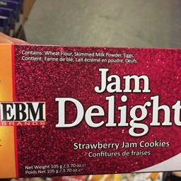 Jam delight strawberry cokkies 105g