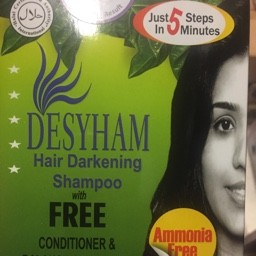 Hair darkening shampoo & conditioner
